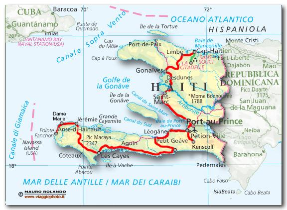 Cartina Geografica Haiti.Haiti Cartina Mondo