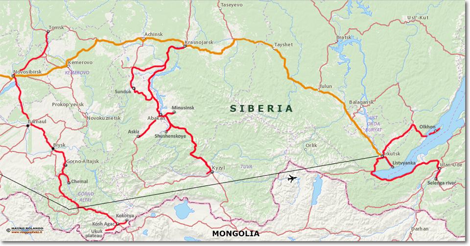 Cartina Siberia Russia.Cartina Russia Siberia